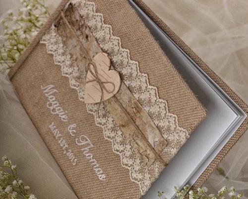 Thiệp cưới phong cách Rustic – Vintage