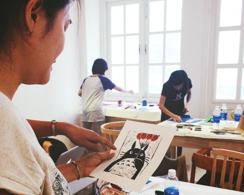 CAFÉ.WORK.SHOP –  WORKSHOP LINO CUT: KHẮC TRANH IN TRÊN LINOLEUM