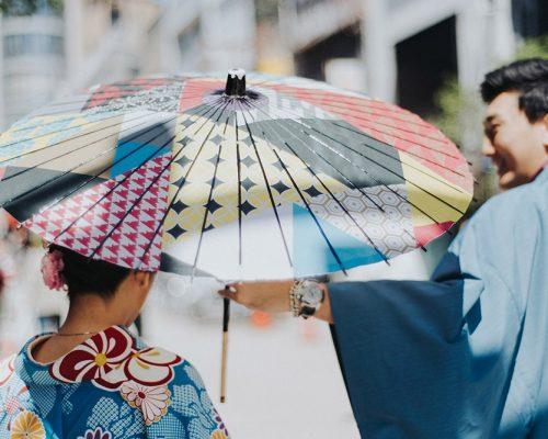 Câu chuyện tiệc cưới Á Đông: Yêu nhau ở OSAKA