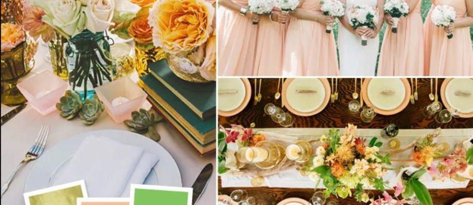 15 cách kết hợp màu sắc cưới bạn chưa từng thấy