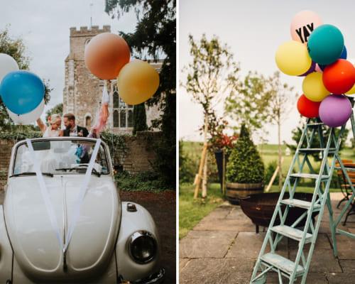 6 cách trang trí bóng bay độc đáo cho đám cưới của bạn