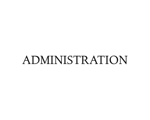 WE'RE HIRING: ADMINISTRATION