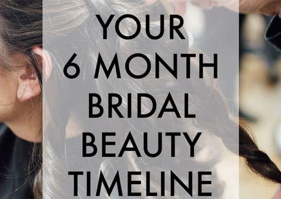 Kế hoạch làm đẹp trước ngày cưới trước 6 tháng danh cho cô dâu