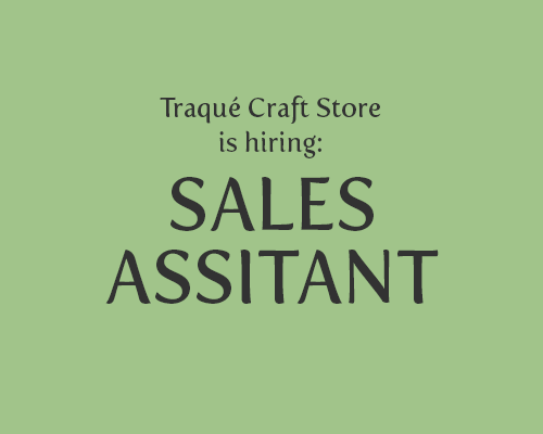 HIRING: SALES ASSISTANT (2)